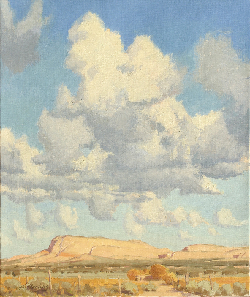 Yellow Mesa, 24x20, LaFave Gallery