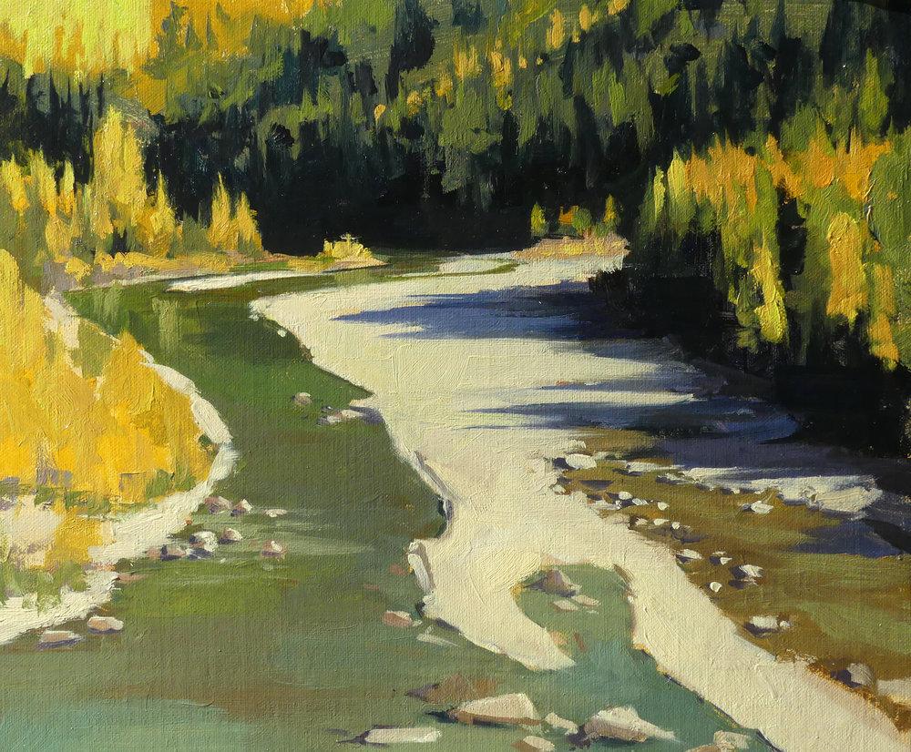 Autumn River 10 x 12