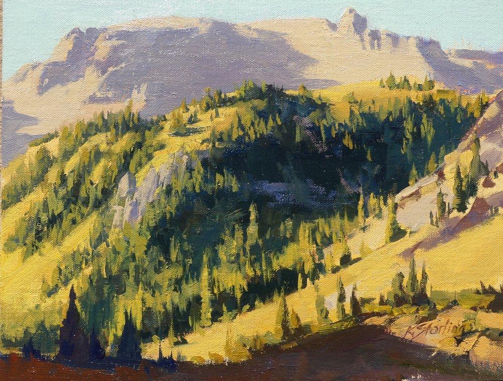 High Mountain Autumn 10 x 12