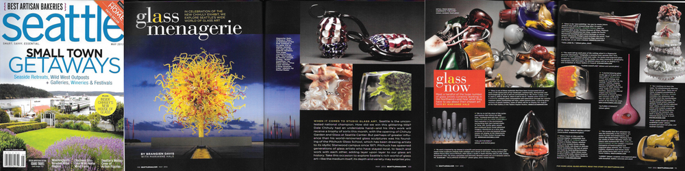 Seattle Magazine,  Glass Menagerie  by Brangien Davis with Marianne Hale, May 2012