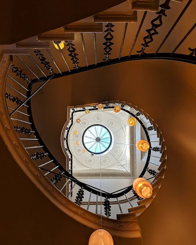 On my way home for a few days but thinking fond memories of Edinburgh and getting to revisit the gorgeous Scotch Malt Whisky Society and see this beautiful staircase with new eyes and a new camera.