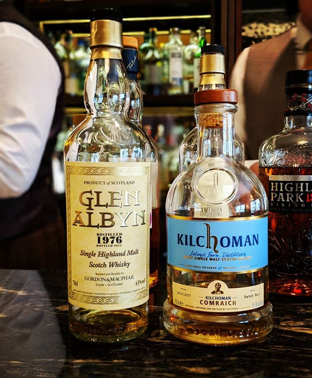 Two surprise favorites from an afternoon of tasting at The Balmoral. Happy to report that their Scotch bar will put together some pretty amazing flights for any skill level. And they have some unique bottles to pour.