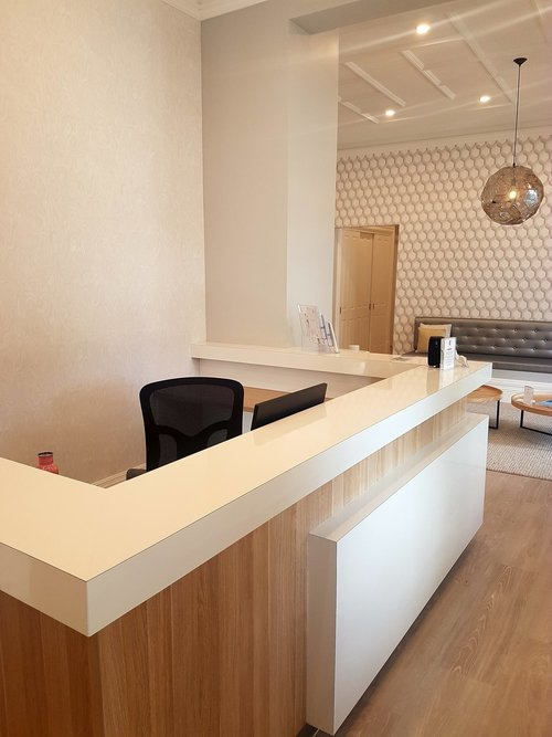Our clinic reception facilities are wheelchair accessible