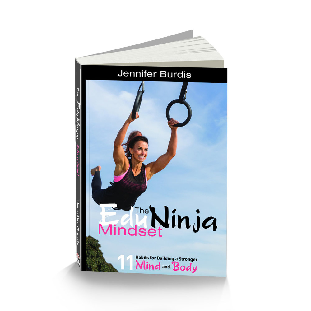 """The cover of """"EduNinja Mindset: 11 Habits for Building a Stronger Mind and Body"""" Click here for the Amazon Book Link:   https://amzn.to/2xS6Hyu"""