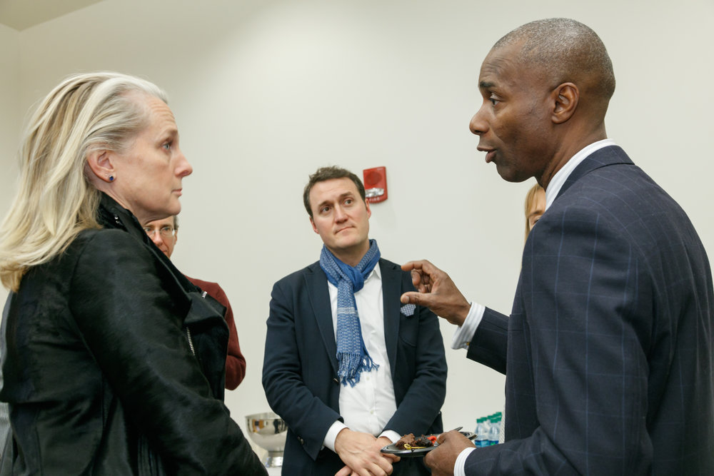 Special Guests- Ndume Olatushani and Piper Kerman, A.J. Zanyk - Photo Credit (Columbus, OH)