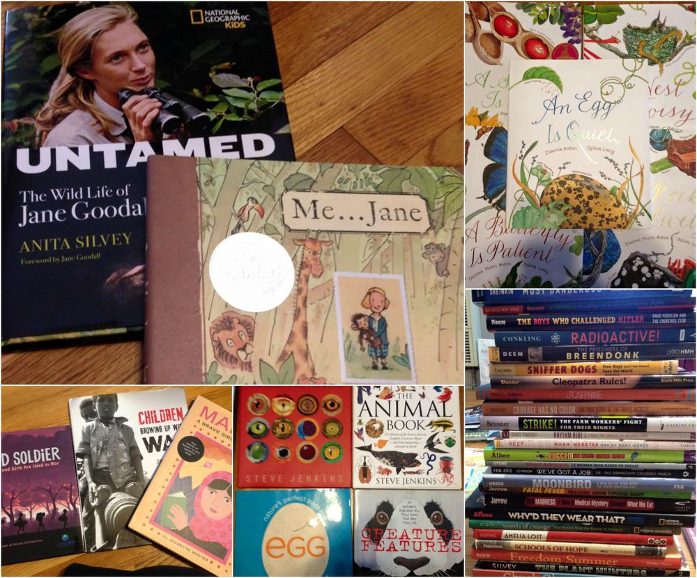 Nonfiction Picture Book Wednesday The Excitement Of Sharing