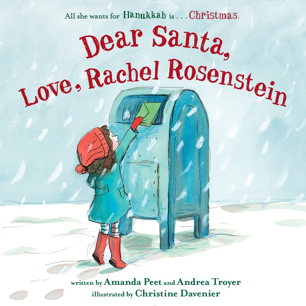 Dear Santa, Love, Rachel Rosenstein Giveaway — Kid Lit Frenzy