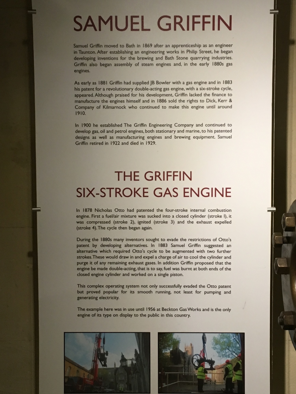 Details on the invention and use of the Griffin Engine.