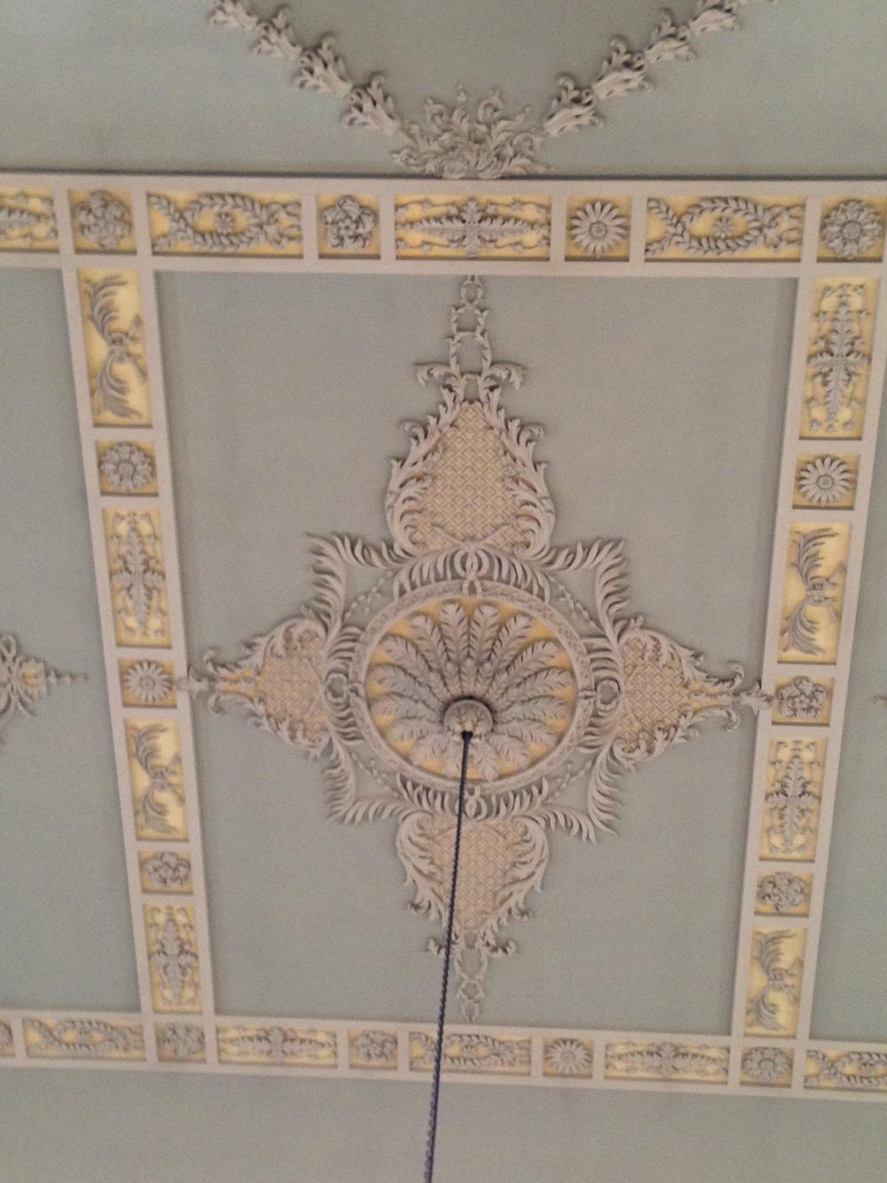 Ceiling details.