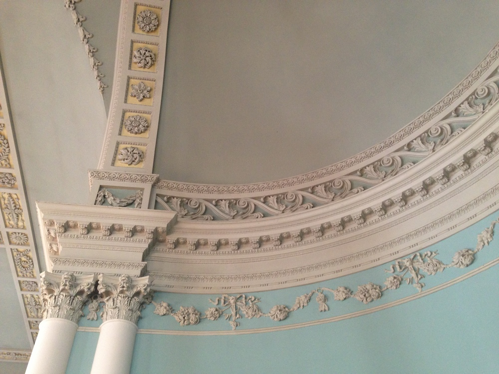 More ceiling details.
