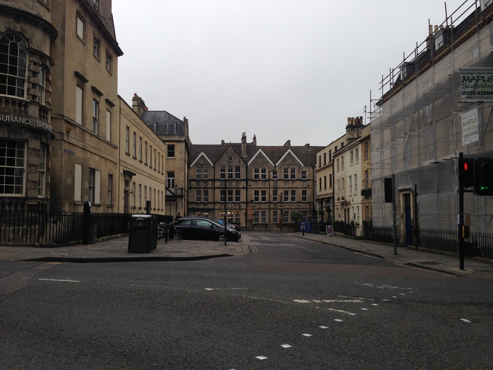 More buildings in Bath.