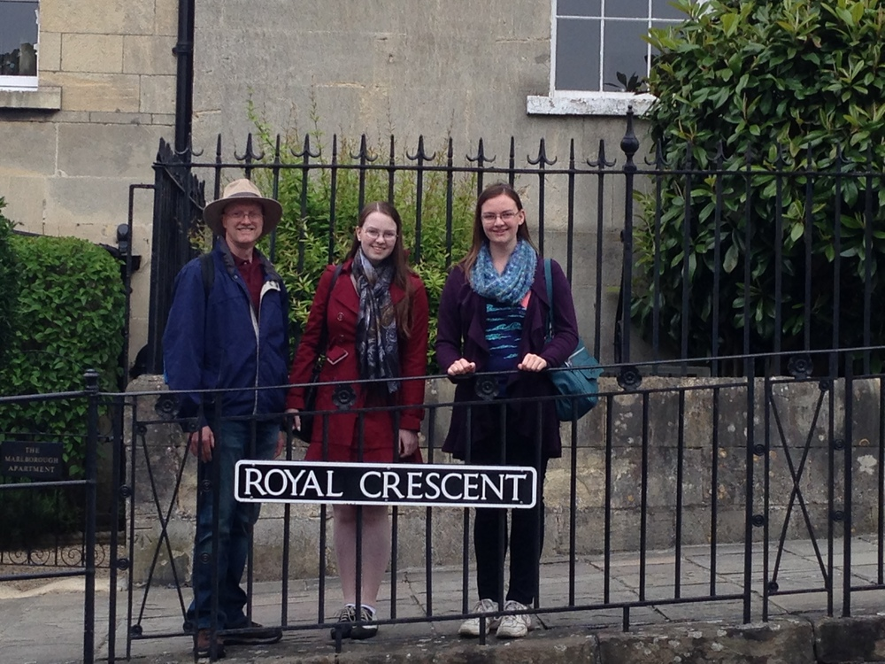 Here it is: the Royal Crescent!