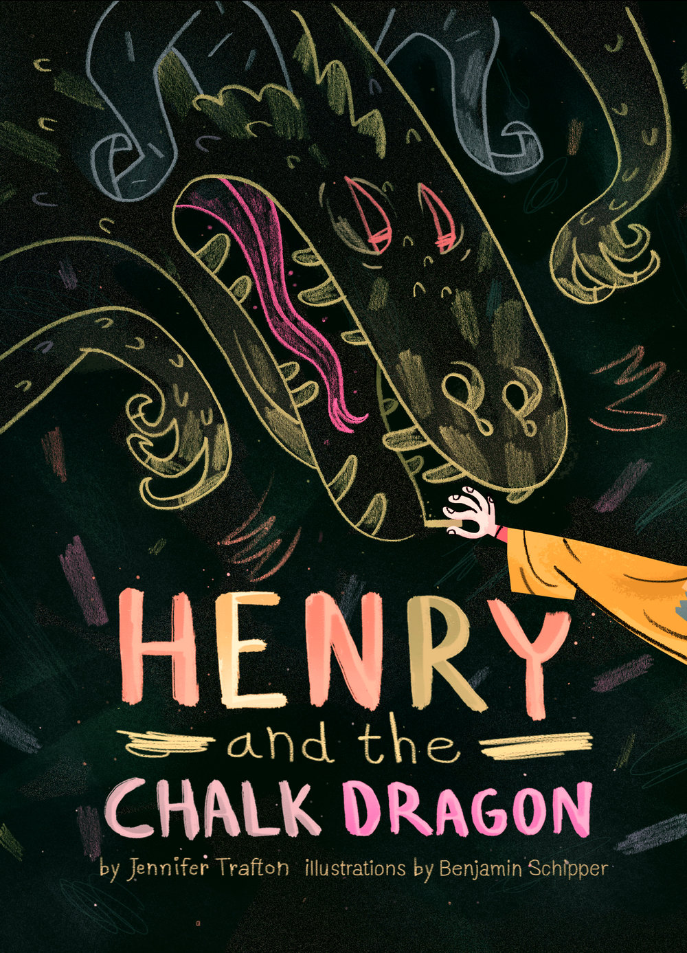 Henry and the Chalk Dragon Review & Giveaway