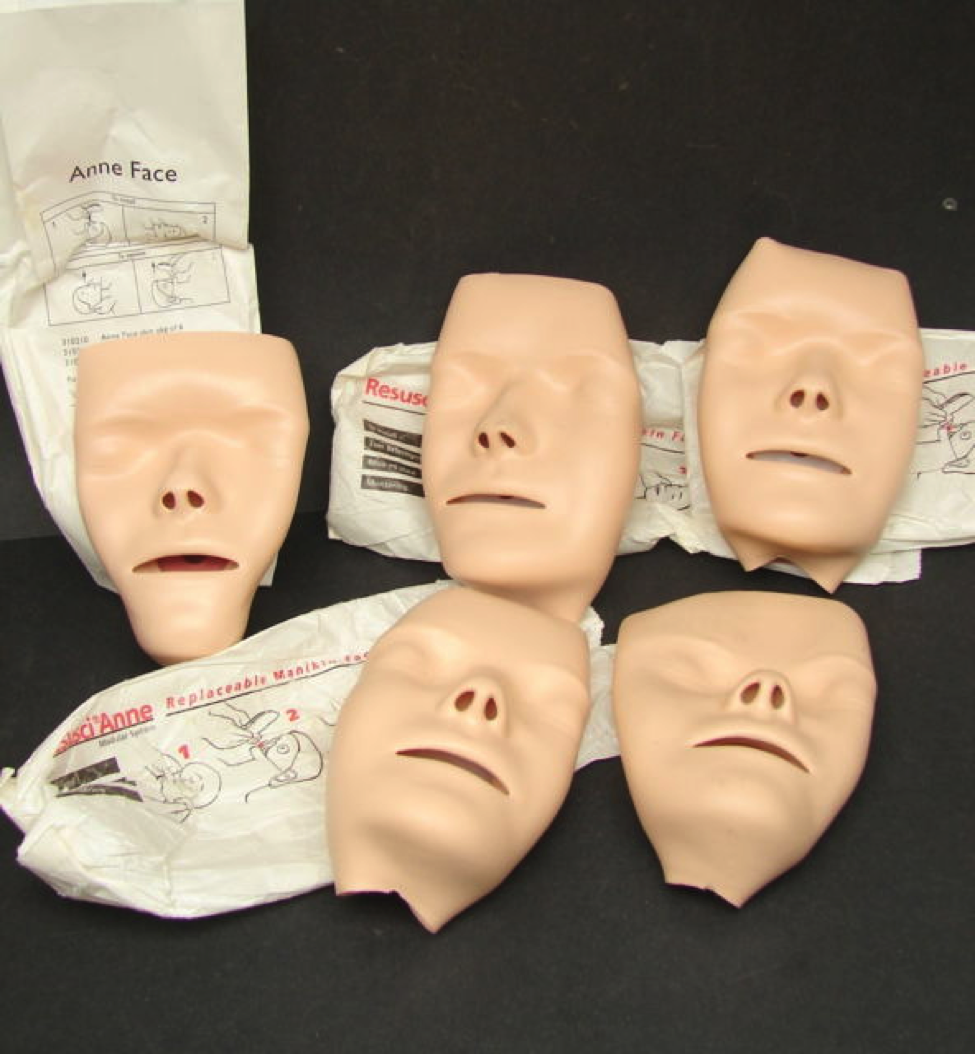 Her nameless face became the face of the most popular CPR doll today - Resusci Annie.