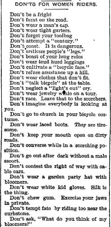 Don'ts for Women Riders 1[3].jpg