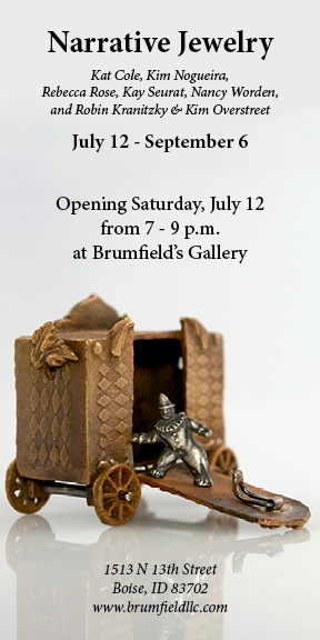 I'm finishing up work for this show now, it's sure to be an interesting and vibrant exhibition!
