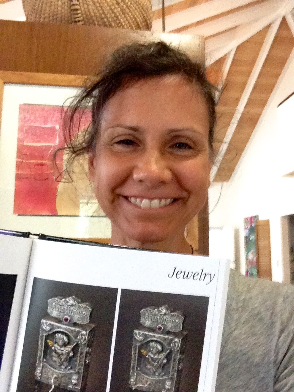 Kim Nogueira in Lapidary Journal Jewelry Artists design competition book, The Gemmys
