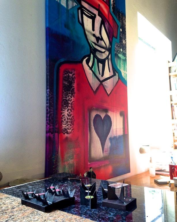 Kim Nogueira's studio