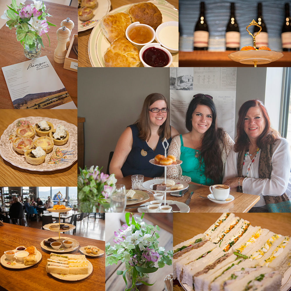 Mother's Day 2016 was celebrated at Bangor Shed with High Tea. With scones, finger sandwiches, delicious quiches and gorgeous desserts it was a fabulous day, all topped off with our Bangor Sparkling.