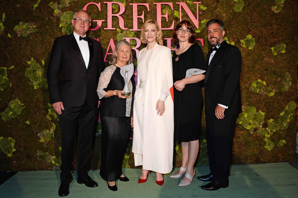 Latest News - Matt and Vanessa Dunbabin were recently awarded the Eco Stewardship Award, at the star-studded Green Carpet Fasion Awards in Milan. The award recognises the environmental management at Bangor.