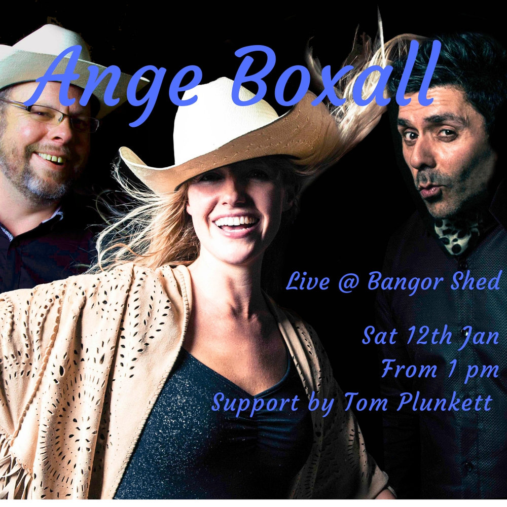 Sat 12th Jan  - Summer Music Afternoon. Ange Boxall trio, supported by Tom Plunkett. Call now to book a table inside. No bookings needed for a spot of lawn outside. Music from 1pm.