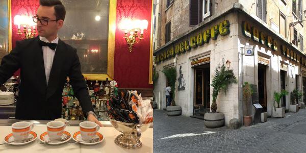 Roma Kahve Caffe Greco ve Tazzo D'Oro