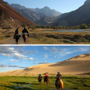 """""""Kırgızistan ve Moğolistan Daglar-Stepler"""""""