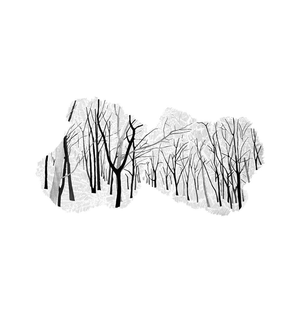 Hide & Seek 1 by Etienne de Fleurieu, gravure a l'eau forte et pointe sèche