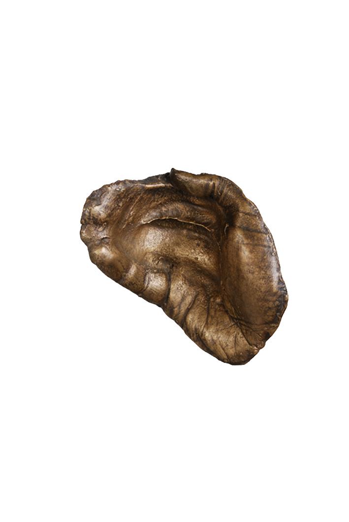 Hush by Etienne de Fleurieu, sculpture en bronze, vue 1