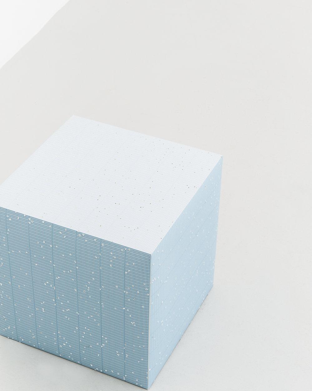Shotgun Composition Cube by Etienne de Fleurieu, artwork