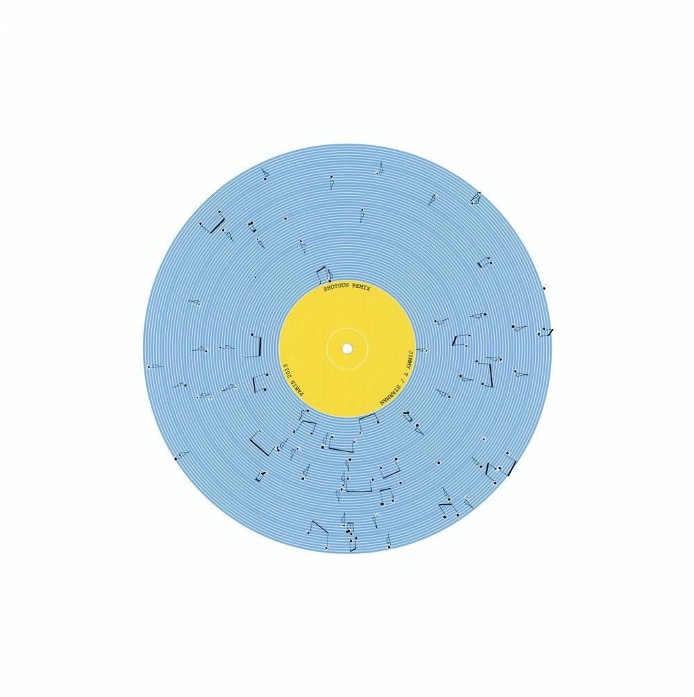 Shotgun Remix 7 by Etienne de Fleurieu, digigraphie , dessin à l'encre