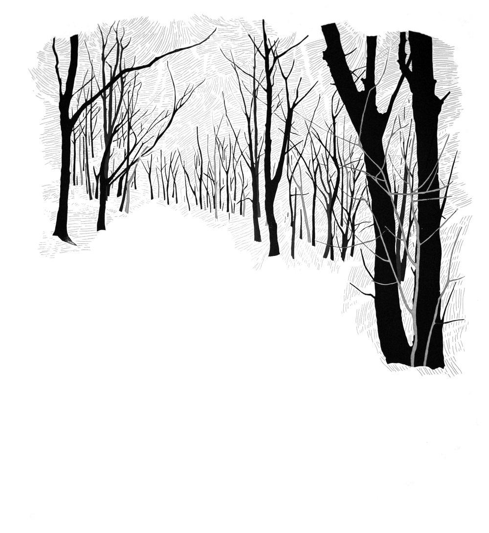 Hide & Seek 4 by Etienne de Fleurieu, gravure a l'eau forte et pointe sèche