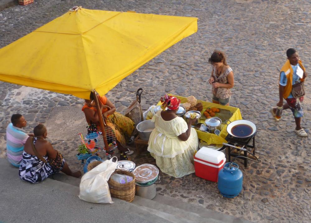 Strassenstand in Salvador