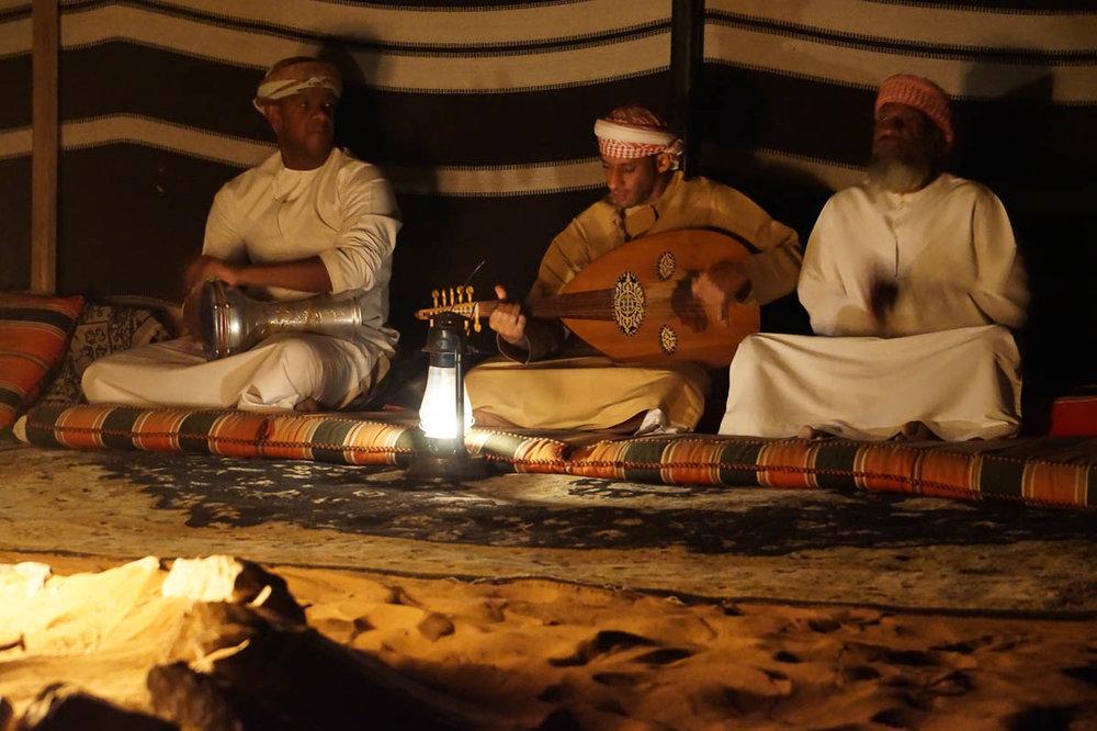Beduinen Wahiba Sands