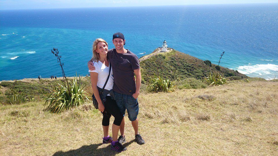 At Cape Reinga: The Lighthouse