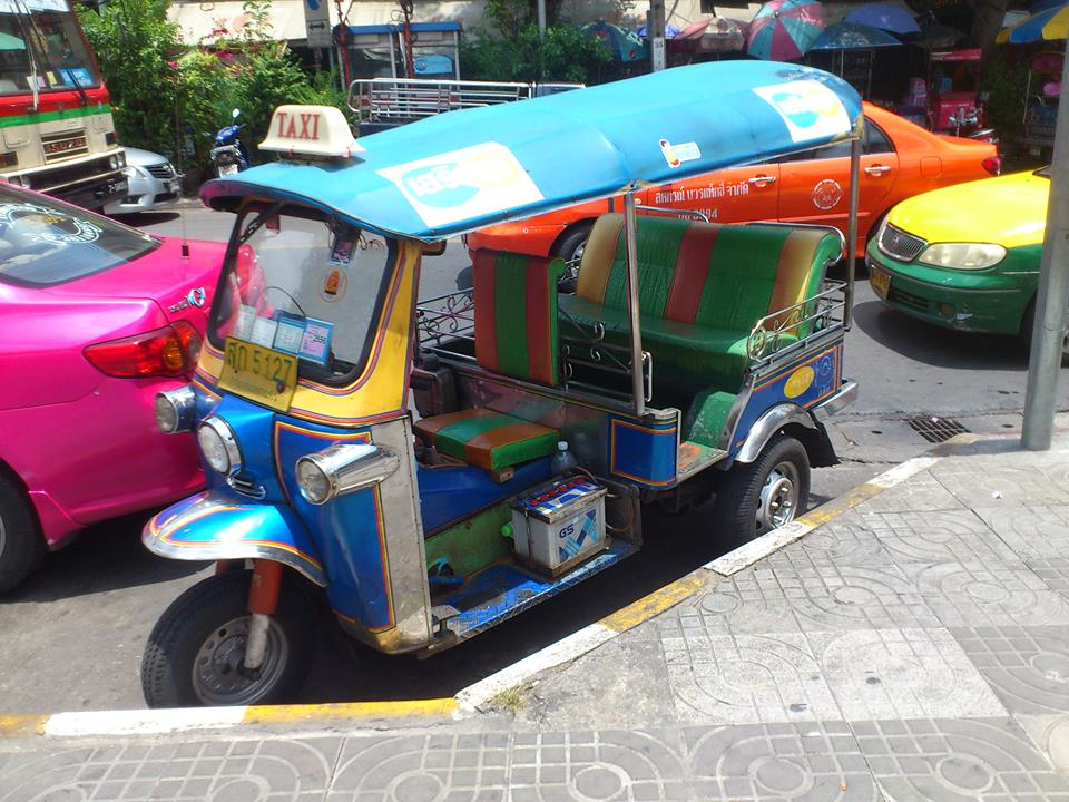 The cutest death trap - a tuk-tuk!