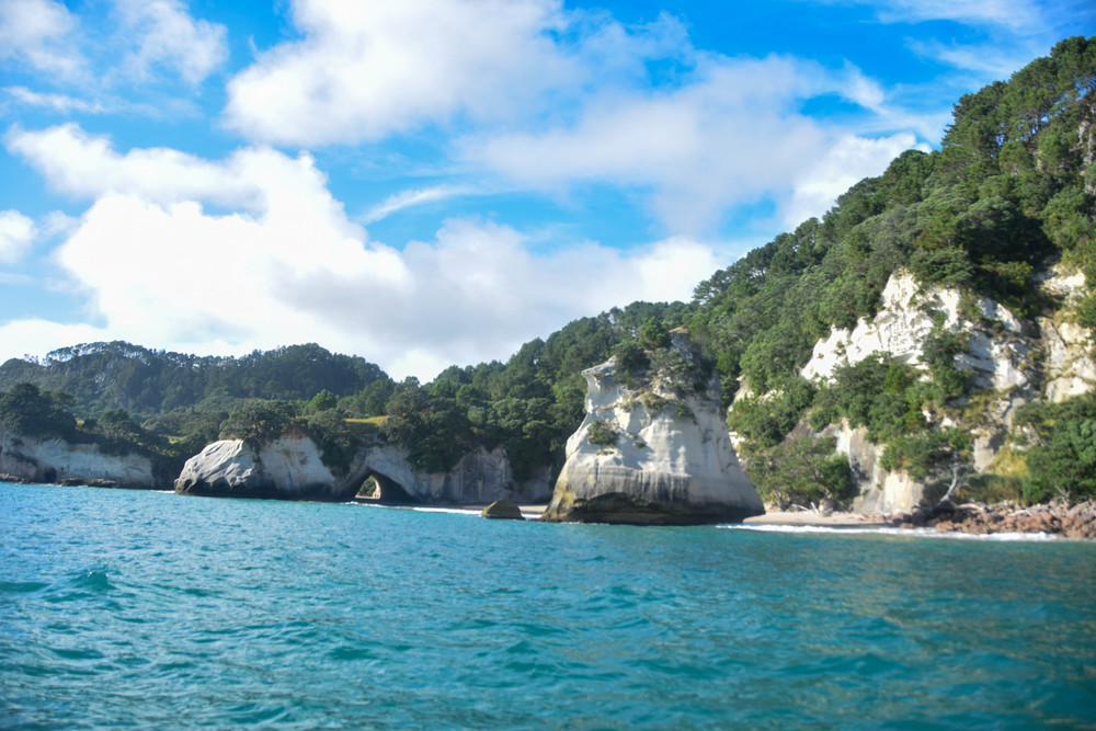 Te Hoho Rock and Cathedral Cove