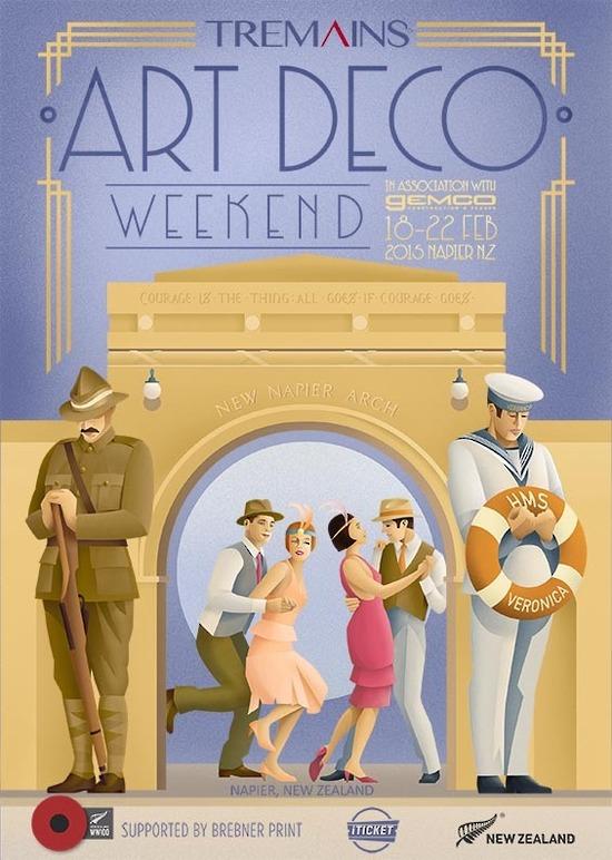 art deco poster 2015