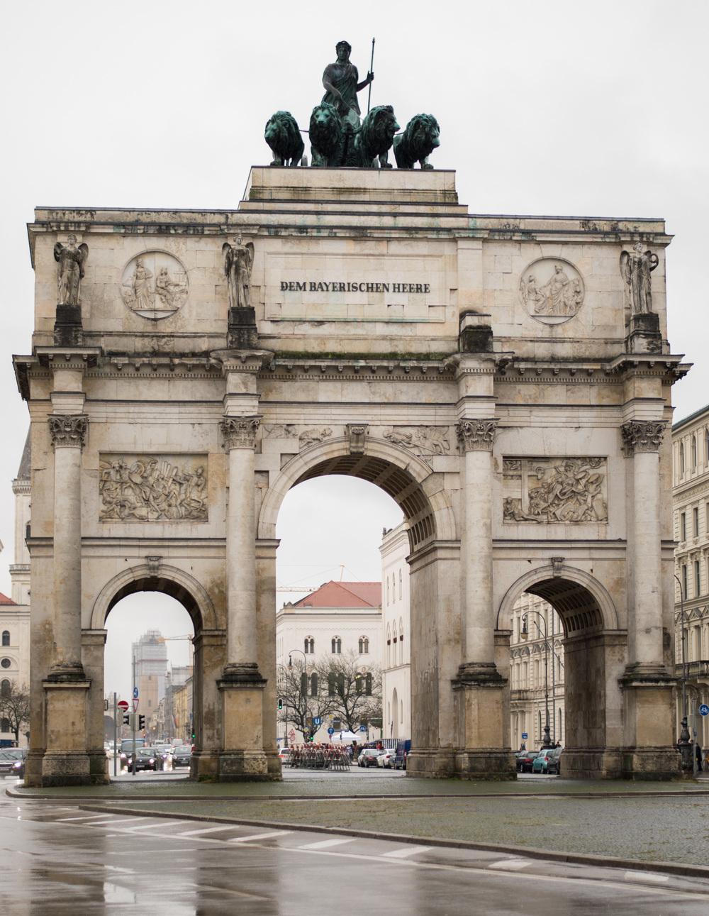 Seigestor Arch Munich