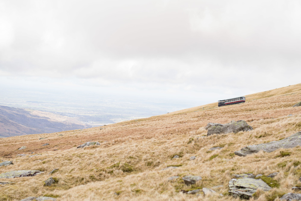 railway up snowdon, snowdon train