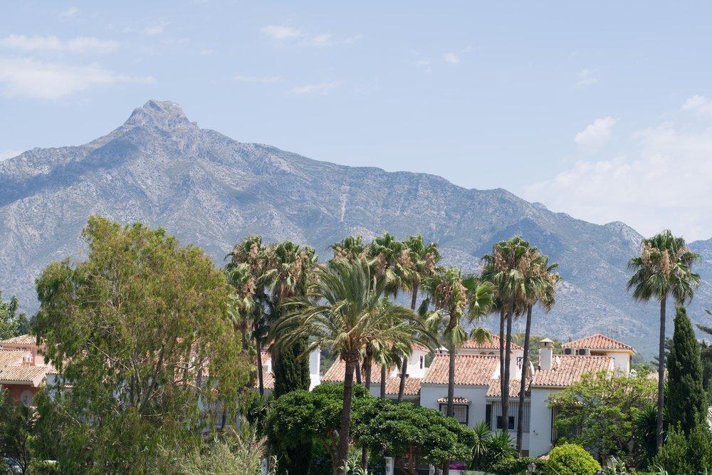 sierra blanca mountain range, costa del sol, san pedro, marbella