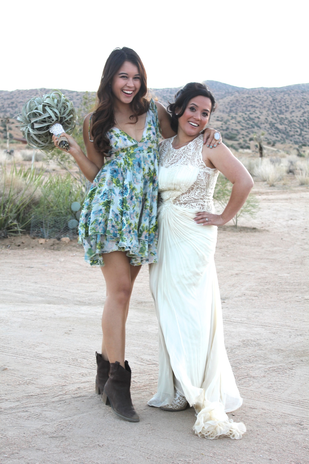 The gorgeous desert princess bride, Ngoc!