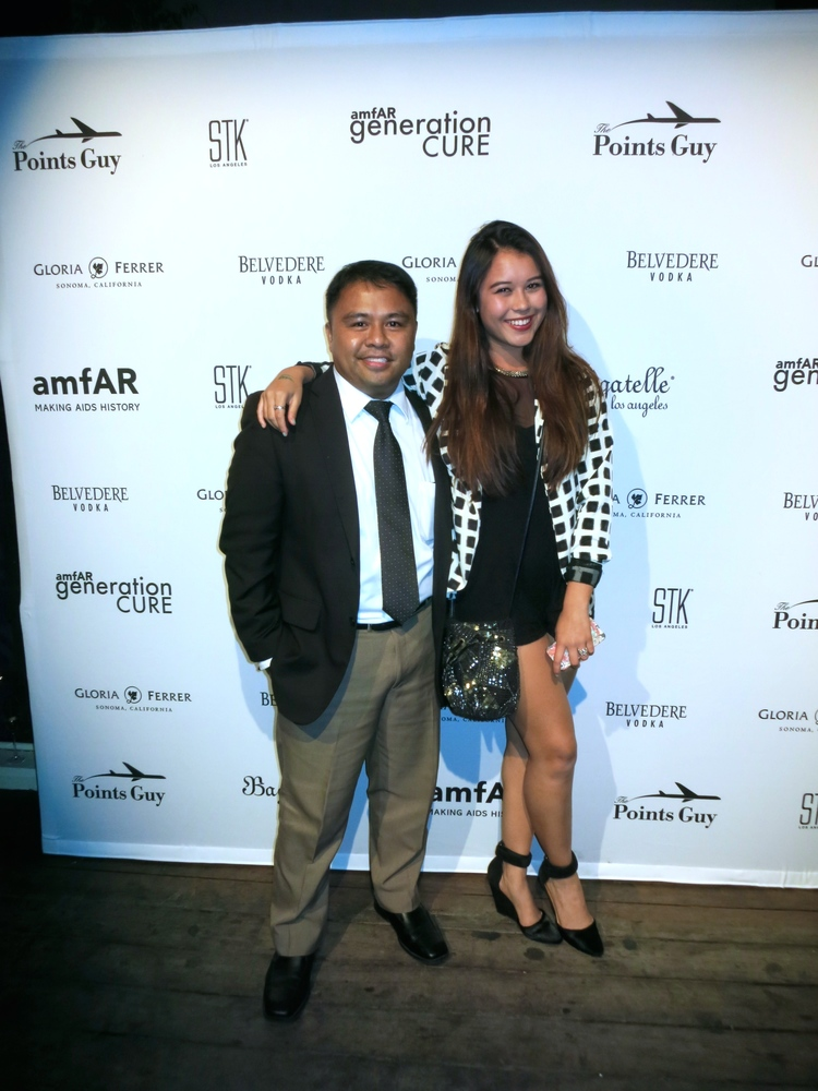 Red carpet without the red carpet with my dear friend Nevin