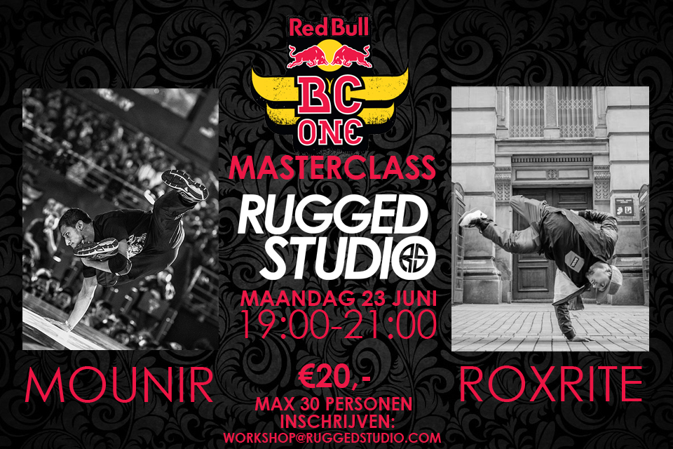 Red Bull BC One Masterclass Holland / Rugged Studio
