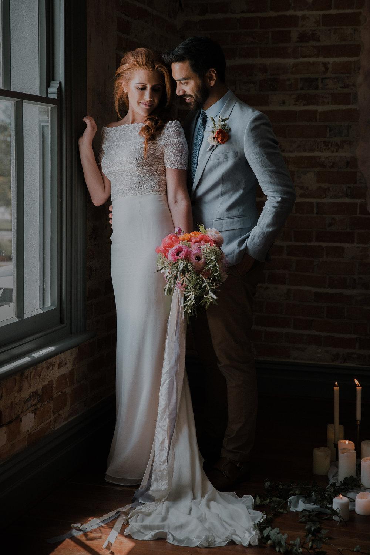 GUILDFORD HOTEL WEDDING {INDUSTRIAL ROMANCE INSPIRATION} — Anna ...