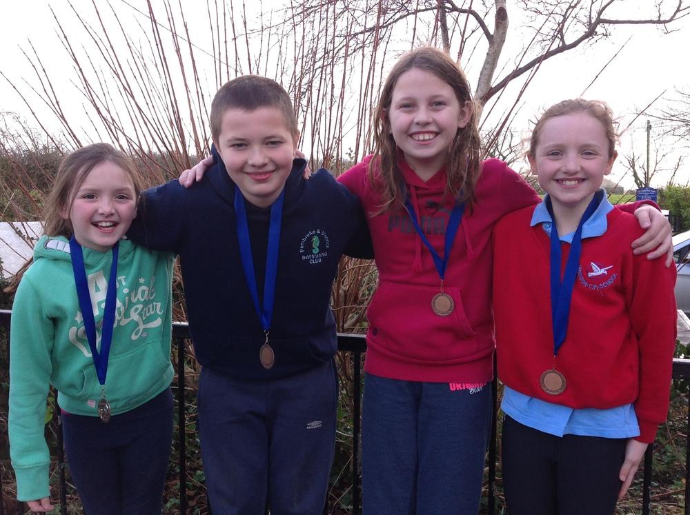 Sladen Swimming Team