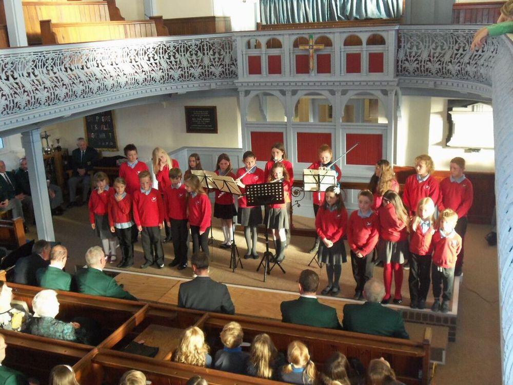 Winning choir