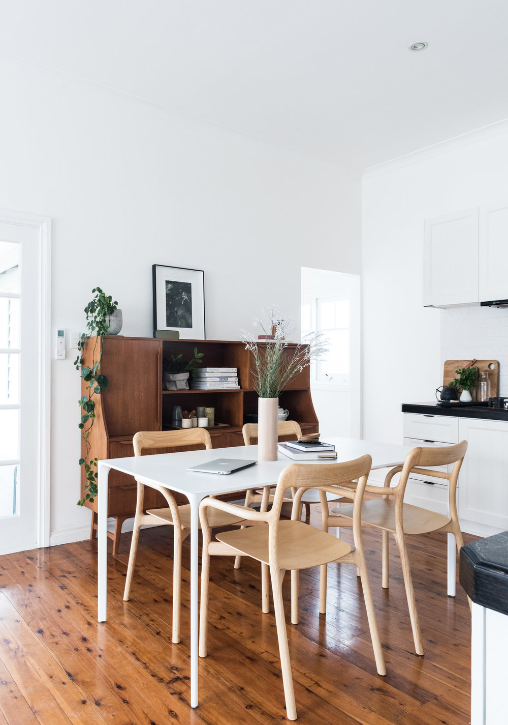 Scandinavian dining room photograph