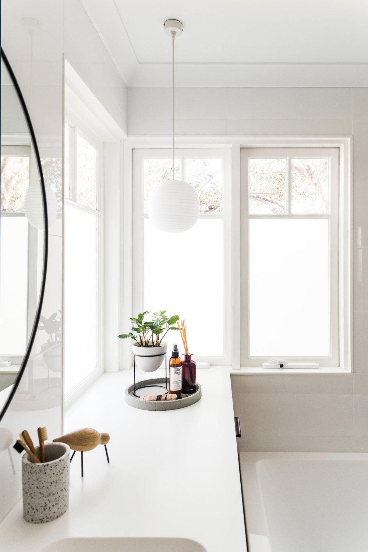 small designer bathroom photograph