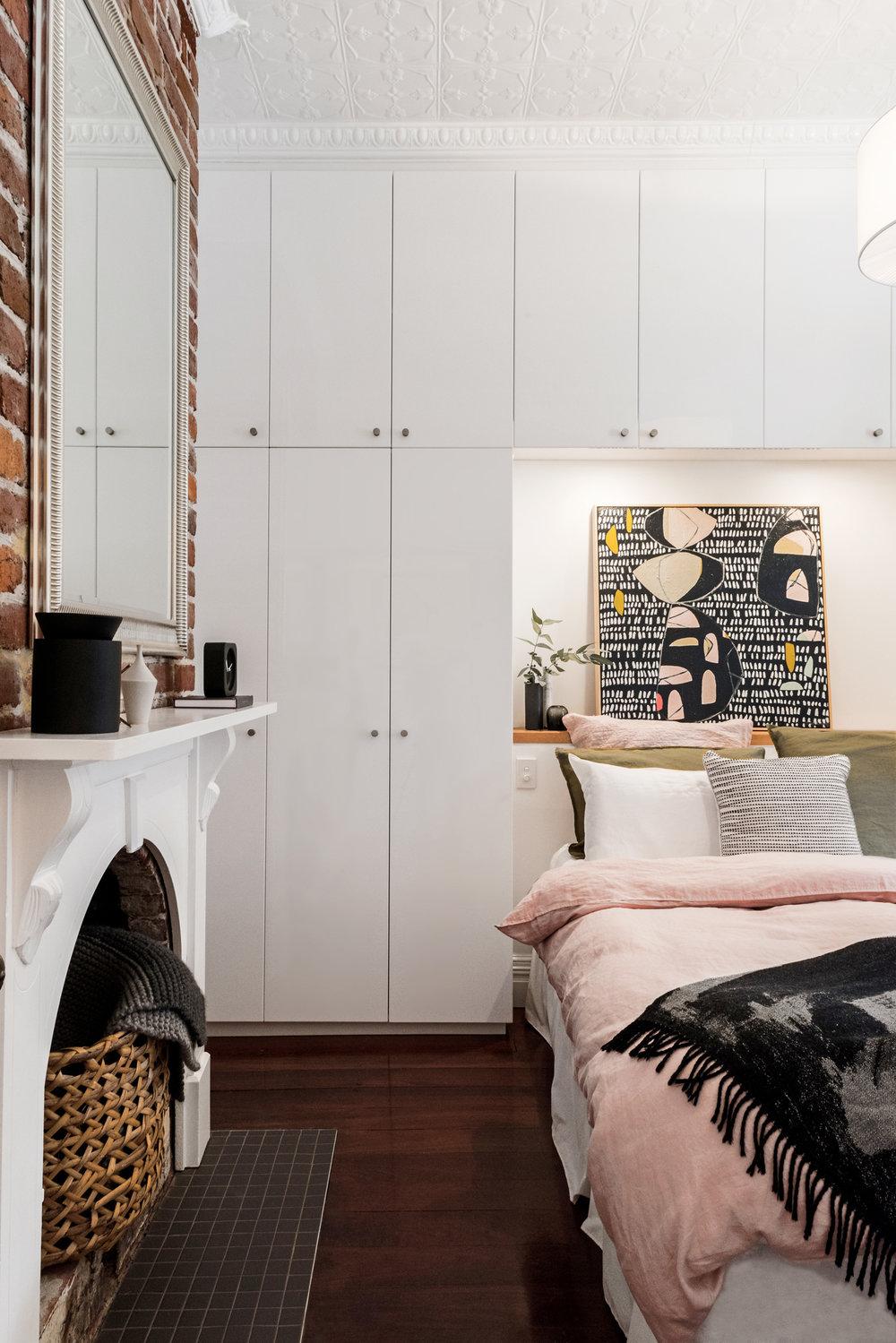 Bedroom wardrobe photograph